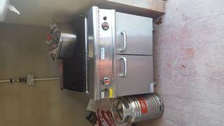 parrilla de gas cocina
