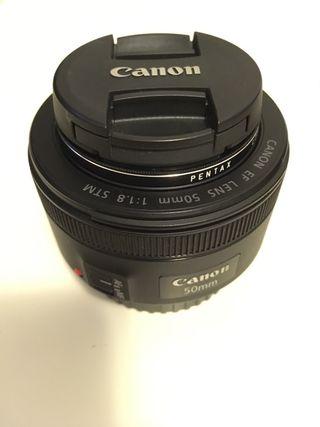 Canon EF Lens 50mm STM f/1.8
