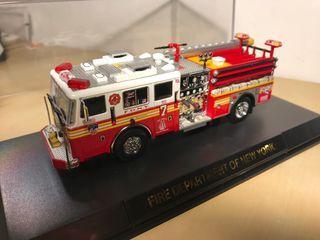 camion bombero CODE 3 FDNY