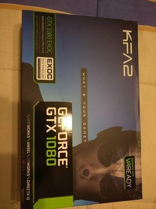 KFA2 NVIDIA GeForce GTX 1080 EXOC 8 GB GDDR5X