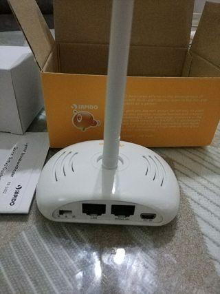 Router punto de acceso y repetidor wifi