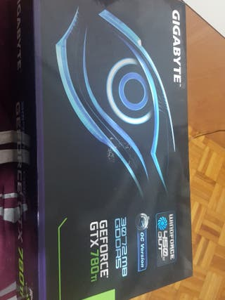Gigabyte geforce gtx 780ti windforce 3gb oc