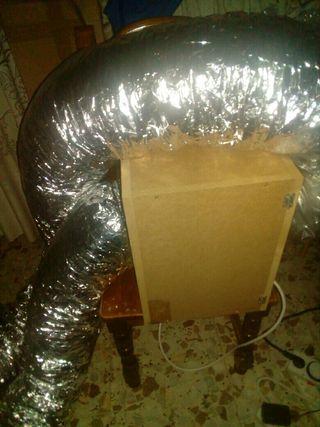 caja insonorizada con extractor 150w rvk