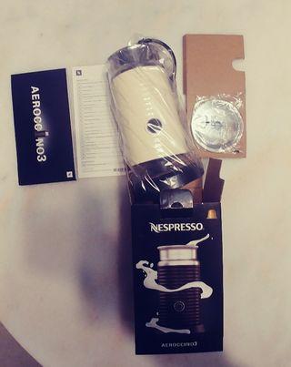 Aeroccino 3 de Nespresso sin estrenar