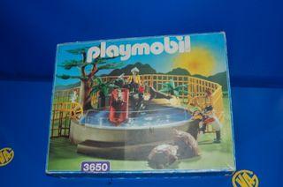 Lote Playmobil-ZOO PLAYMOBIL 3650 buen estado
