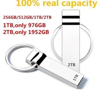 Memoria USB 512 MB,1TB,2TB...