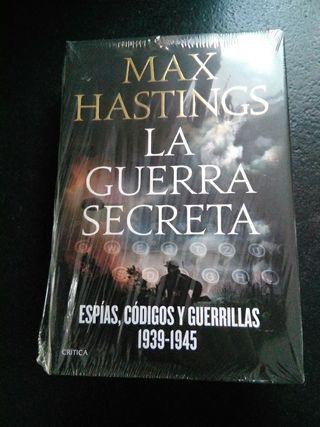 "Libro ""La guerra secreta"", de Max Hastings"