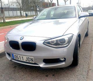 BMW Serie 1 118 D, 5p, 2015, plata, 19500€