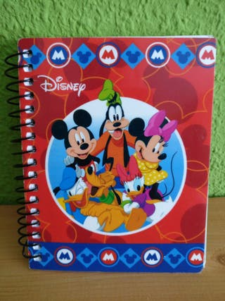 Libreta Disney.