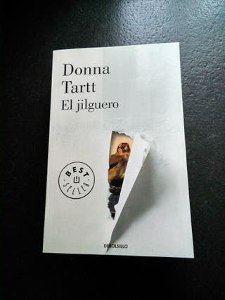 "Libro ""El jilguero"", de Donna Tartt"