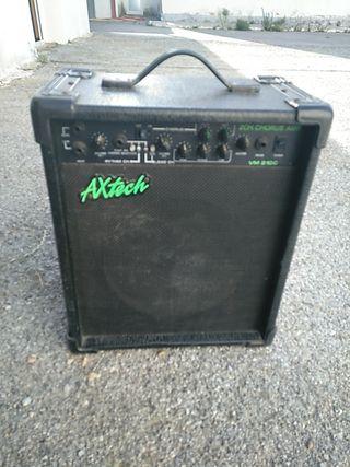 amplificador de guitarra axtech dos salidas