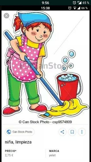 Limpieza de casas con referencias demostrables