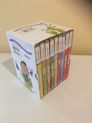 DVDs bebes/niños hasta 5 años