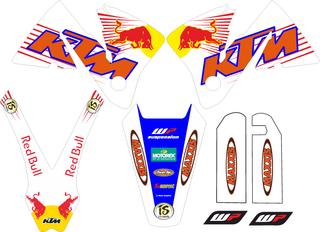 PEGATINAS KTM 2000, 2001 Y 2002