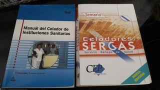 temario celador SERGAS + libro test