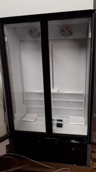 armario refrigerado 2puertas vitrina nevera nueva