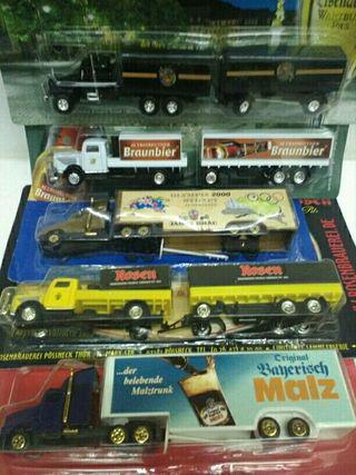 Lote N1. / 5 camiones escala H0