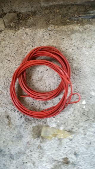 cable de acero forrado