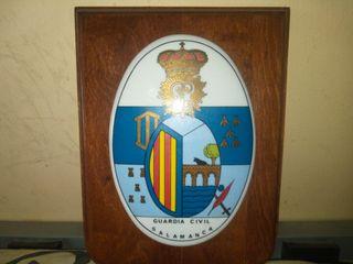 metopas de la Guardia Civil de Salamanca