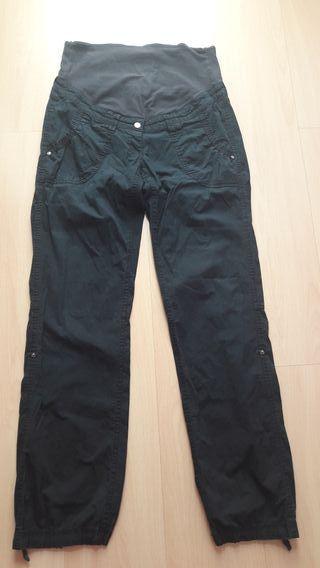 pantalon premamá h&m talla 38/40