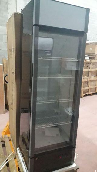 armario refrigerado vitrina nevera 1puerta 340l