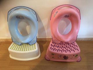 Accesorios WC niños pequeños