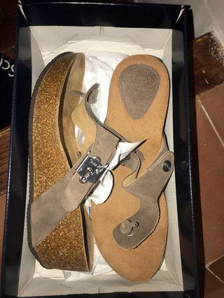 Zapatos de cuña dr sholls