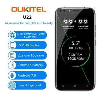 "OUKITEL U22 -5.5"" 3G Smartphone Libre nuevo"