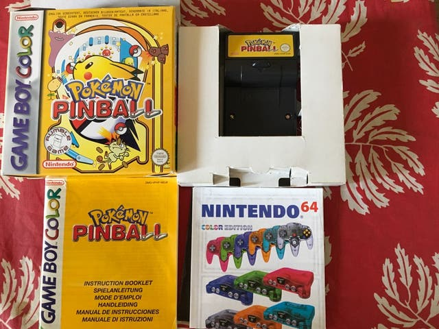 Gameboy color pokemon pinball de segunda mano por 30 € en Valladolid ...