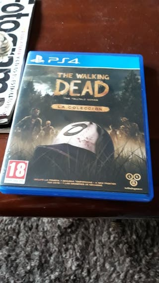 SEMINUEVO WALKING DEAD COLLECTION PS4