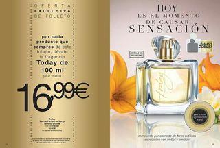 Perfume Today doble tamaño(100ml)