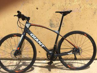 Bicicleta carretera giant carbon 2018