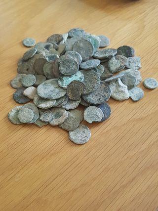 lote 200 monedas romanas