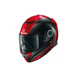 SHARK SPARTAN CARBON ROJO