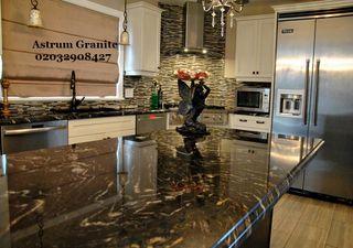 Fusion Gold Granite Kitchen Worktop London