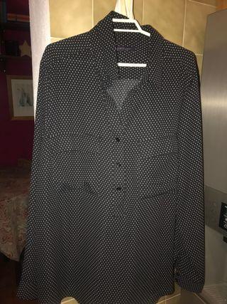 2 camisas VIOLETA