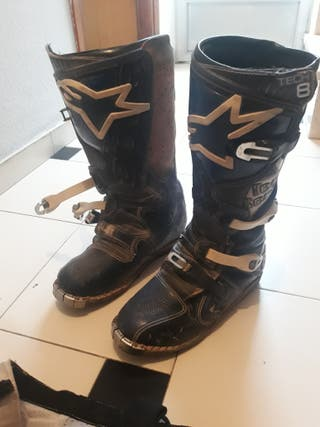 botas y pantalones motocross
