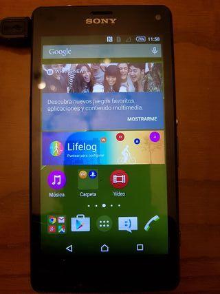 Teléfono movil sony xperia Z3 compact negro smart