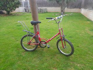 Bici plegable GAC motoretta