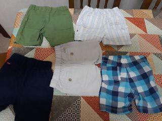 pantalones cortos bebe