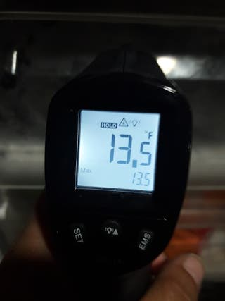 medidor termometro pistola temperatura alimentos