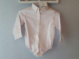 Camisa body Gocco con etiqueta 18 meses