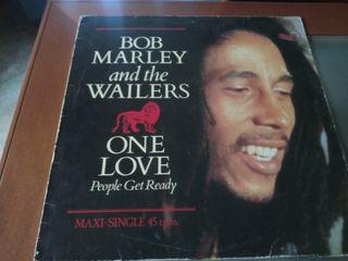 Maxi vinilo BOB MARLEY, One love.