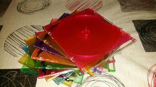 Cajas Vacias de CDS y DVDS en Lotes de 10 unidades