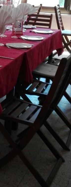 sillas de madera urge vender