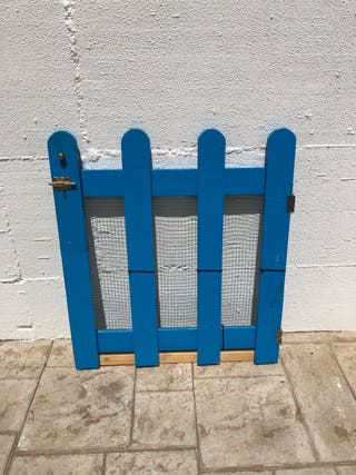 Puerta de palets