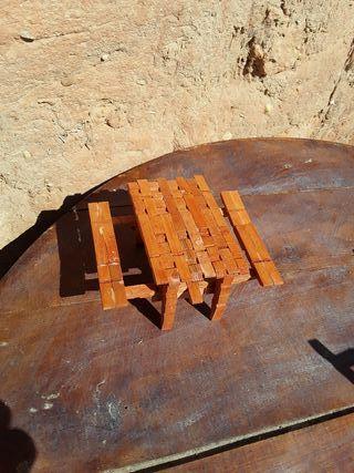 mesa de pinzas