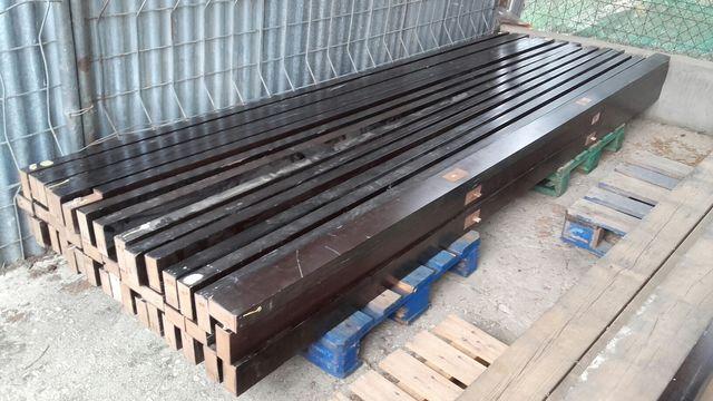 Vigas de madera dm viguetas cuarterones 10 5 de segunda mano por 15 en m laga en wallapop - Vigas de madera malaga ...