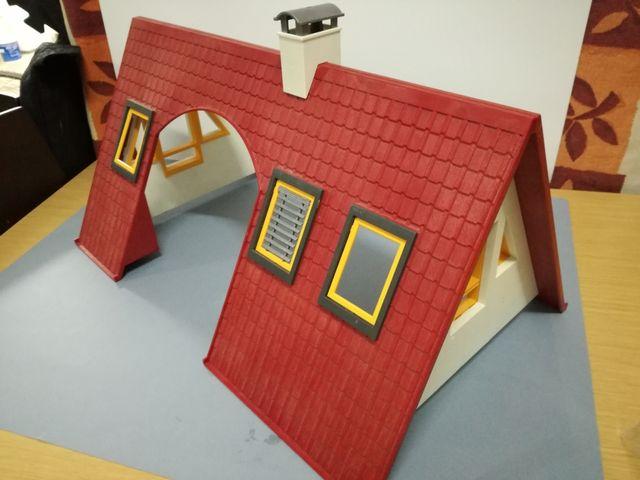 Playmobil tejado casa moderna 4279 de segunda mano por 5 for Casa moderna 4279