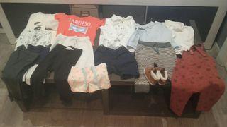 lote ropa niño Zara y Hym.
